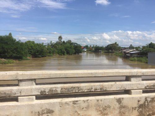 สภาพแม่น้ำยมปัจจุบันบริเวณอำเภอสามง่าม