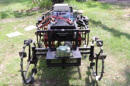 หุ่นยนต์อัตโนมัติกำจัดวัชพืชในนาข้าว