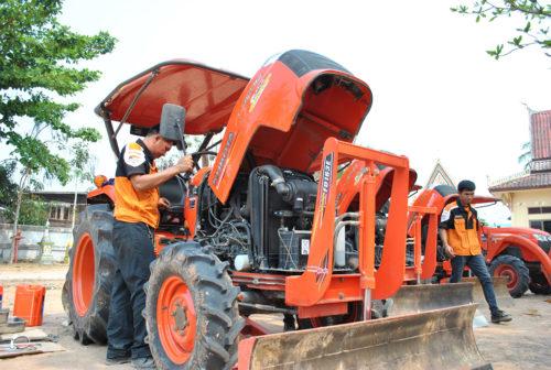 คูโบต้าส่งทีมช่างผู้เชี่ยวชาญ ลงพื้นที่ออกให้บริการจุดตรวจเช็กสภาพเครื่องจักรกลการเกษตร ฟรี กว่า 1,900 จุดทั่วประเทศ