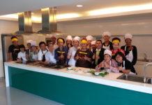 ผู้เข้าอบรมขนมจีนปักษ์ใต้