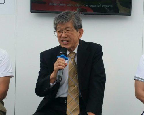 ดร.มิกิโอะ อูเมดะ ที่ปรึกษา บริษัทยันม่าร์ จำกัด