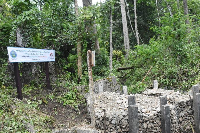กรมชลฯสร้างฝายพื้นที่ต้นน้ำ ฟื้นฟูป่า-บรรเทาภัยอันเกิดจากน้ำ