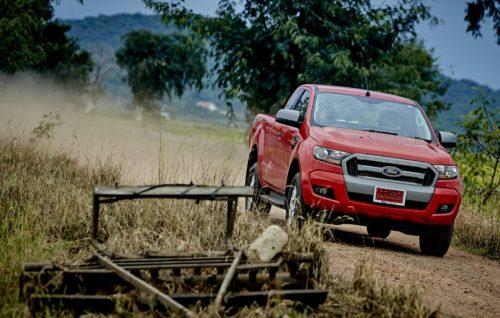 การไปพิสูจน์สมรรถนะของฟอร์ด เรนเจอร์ที่แกร่งทุกงานเกษตร