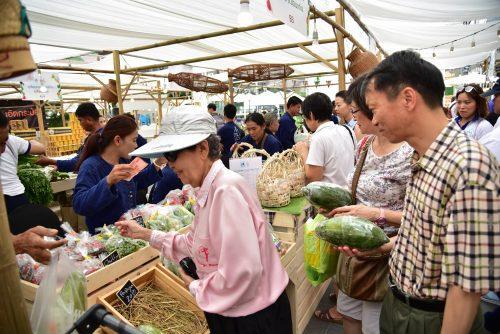 เลือกซื้อสินค้าจากเกษตรกร