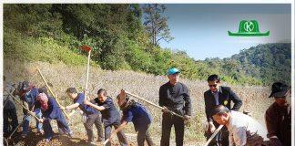 """ก.เกษตรฯ ชูโมเดล""""จอบแรก"""" กู้วิกฤติ """"น่าน"""" แก้ปัญหาเขาหัวโล้น"""