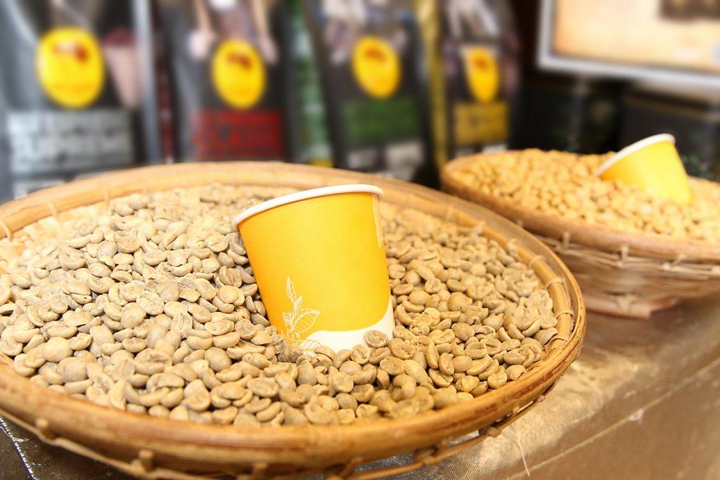 เมล็ดกาแฟไทย