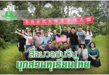 """จีนบุกสวนทุเรียนไทย """"อาลีบาบา"""" นำทัพสื่อมวลชนมาดูให้เห็นกับตา?"""