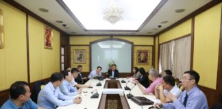 คณะผู้แทนสมาคมไหมสาธารณรัฐประชาชนจีน ร่วมประชุมกรมหม่อนไหม หารือทางการค้า พร้อมกับศึกษาดูงานด้านการผลิตไหม