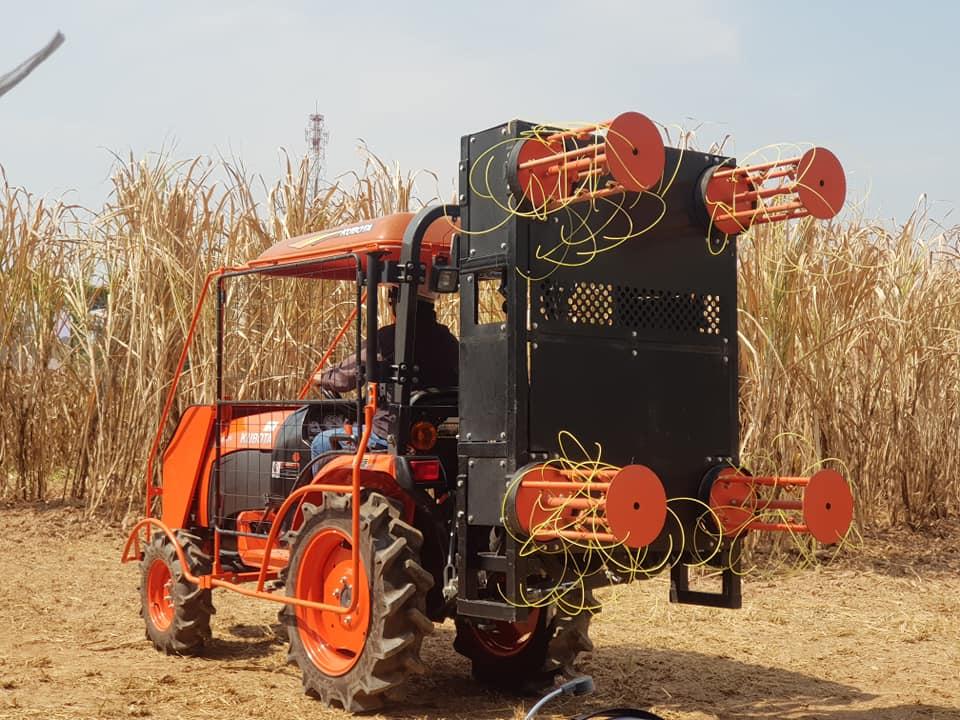 นวัตกรรมเครื่องจักรกลเกษตรจาก คูโบต้า