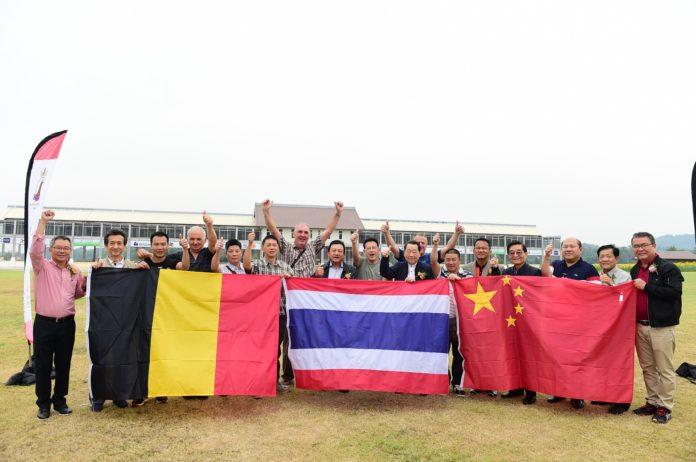 ทีมประเทศไทยคว้าแชมป์แข่งขันนกพิราบนานาชาติ พัทยา ครั้งที่ 3 รับเงิน 4 ล้านบาท