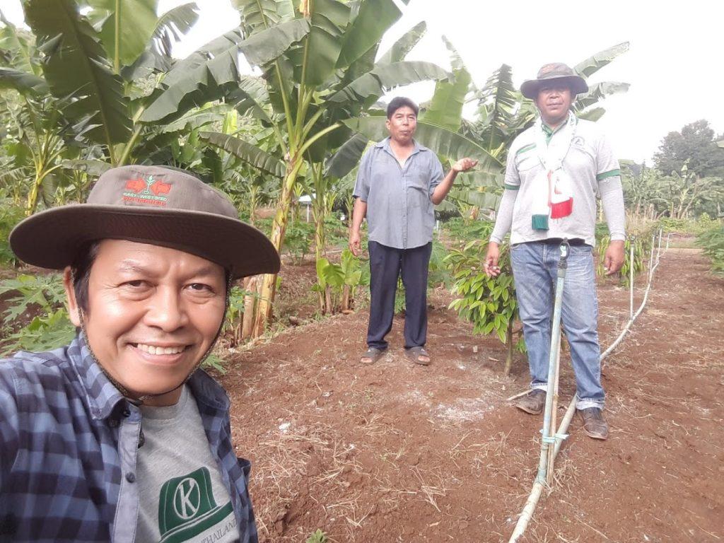 ทีมข่าว เกษตรก้าวไกล กับคุณสมชาย แซ่ตัน