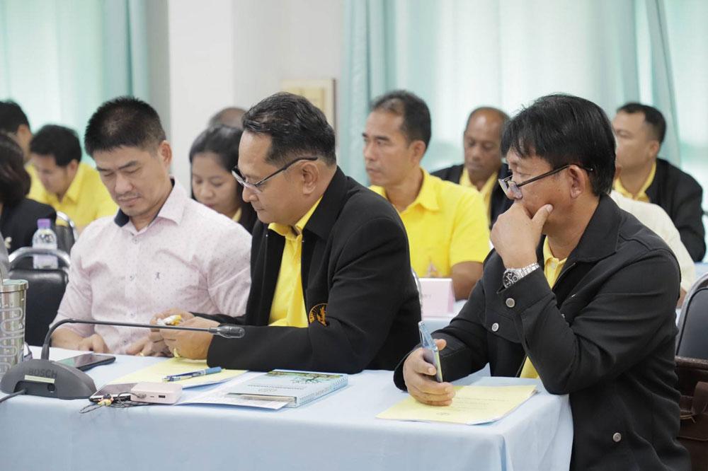 หารือเตรียมการจัดตั้งสมาพันธ์ชาวสวนทุเรียน