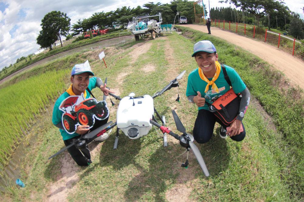 ฐาน Smart Tech เทคโนโลยีอากาศยานไร้คนขับเพื่อการเกษตร (โดรน)