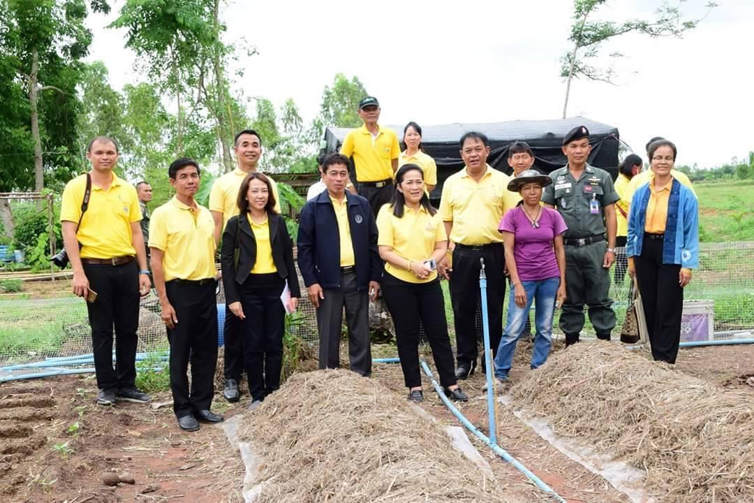 ไปดูโครงการเกษตรเพื่ออาหารกลางวัน ที่โรงเรียนตำรวจตระเวนชายแดนการบินไทย