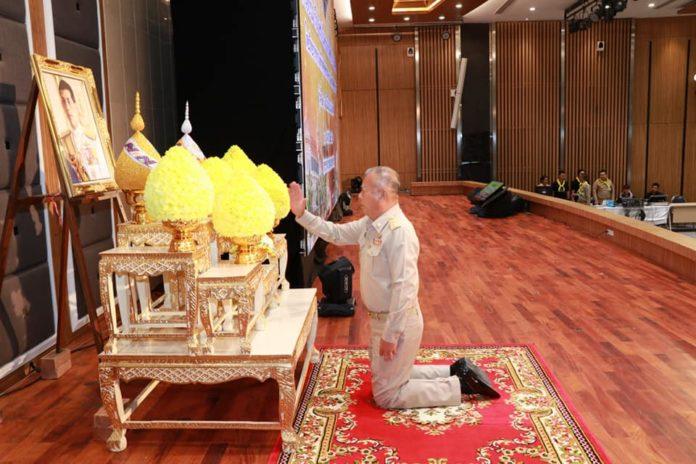 อธิบดีกรมตรวจบัญชีสหรณ์ เป็นประธานเปิดและรับฟังบรรยายพิเศษ เรื่อง สถาบันพระมหากษัตริย์กับประเทศไทย