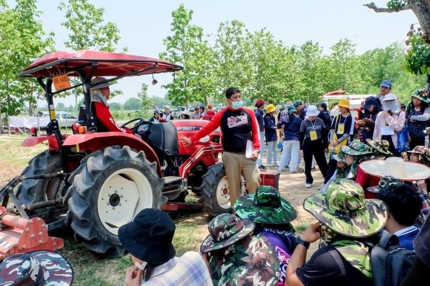 ยันม่าร์ ร่วมกับคณะเกษตรศาสตร์ มหาวิทยาลัยเชียงใหม่ จัดโครงการฝึกอบรมเชิงปฏิบัติการด้านการใช้เครื่องจักรกลการเกษตรสมัยใหม่