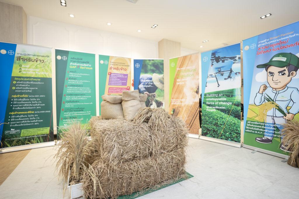 """กรมการข้าว ร่วมกับ ไบเออร์ เปิดตัว """"โครงการสร้าง Smart Farmer สู่การเป็นทูตความปลอดภัยด้านข้าว"""""""