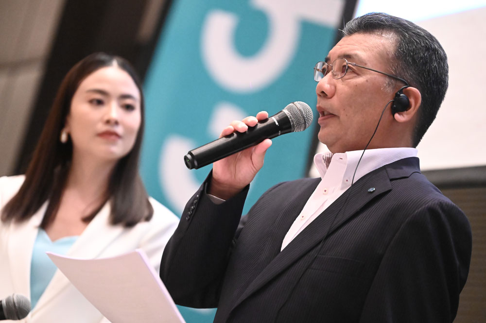 นายฮิโรโตะ คิมุระ กรรมการผู้จัดการใหญ่