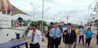 """เฮ! """"เรือสำรวจประมงจุฬาภรณ์"""" กลับไทยแล้ว หลังช่วย """"ติมอร์-เลสเต"""" สำรวจแหล่งทำประมงสำเร็จ"""