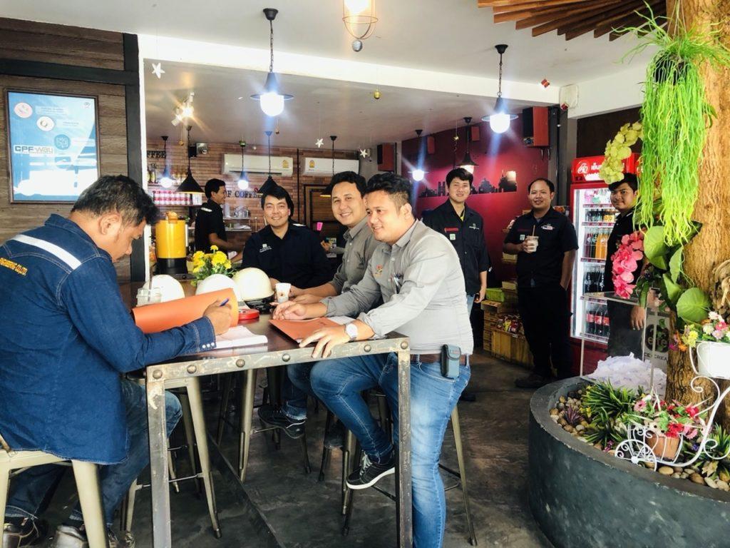 """""""RBF  COFFEE ร้านกาแฟเมืองโอ่ง"""" ซีพีเอฟส่งเสริมพนักงานทำงานอย่างมีความสุข"""