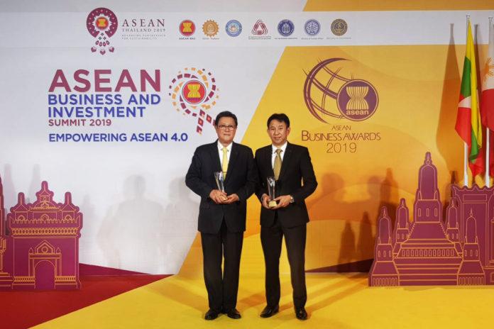 สยามคูโบต้า รับรางวัล The ASEAN Business Awards (ABA) 2019 ผู้นำสร้างความเติบโตเศรษฐกิจอาเซียน