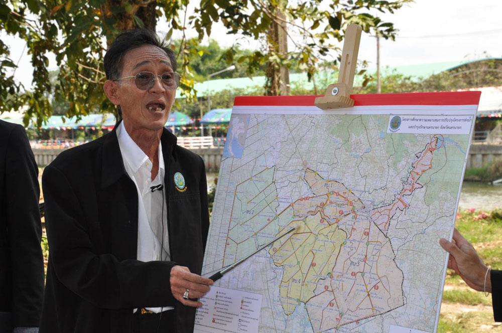 นายสุชิน ชลอศรีทอง ผู้อำนวยการโครงการส่งน้ำและบำรุงรักษานครนายก