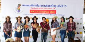 """สัตว์เลี้ยงตัวโปรดของคุณอยู่ในงานนี้ """"มหกรรมสัตว์เลี้ยงแห่งประเทศไทย ครั้งที่ 15"""""""