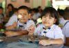 หอการค้าญี่ปุ่น-กรุงเทพ มูลนิธิเจริญโภคภัณฑ์พัฒนาชีวิตชนบท ซีพีเอฟ ร่วมส่งมอบโครงการเลี้ยงไก่ไข่เพื่ออาหารกลางวันนักเรียน ปีที่ 20