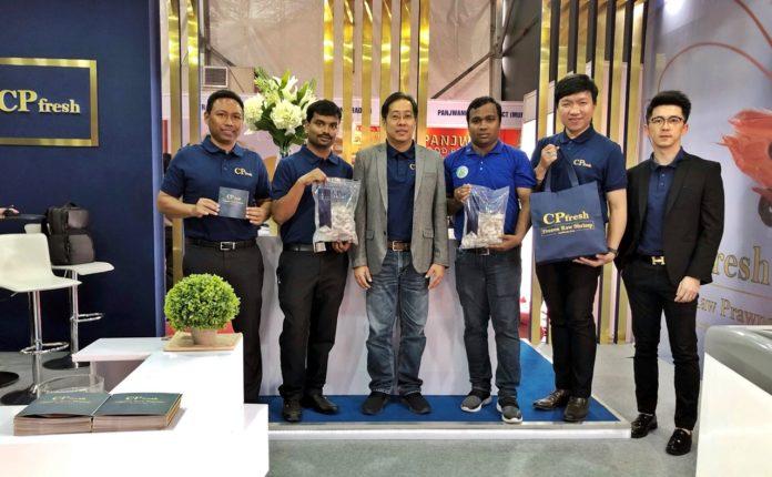 ซีพีเอฟ อินเดีย โชว์ศักยภาพกุ้งแช่แข็งพรีเมียม งาน India International Mega Trade Fair 2019