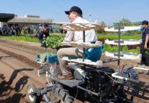 เครื่องปลูกผัก (Vegetable Planter) หนึ่งในนวัตกรรมที่นำมาแสดง