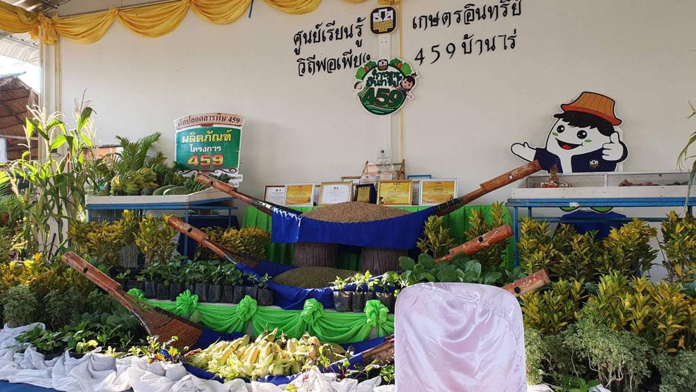 พิธีเปิดศูนย์เรียนรู้เกษตรอินทรีย์ 459 บ้านไร่