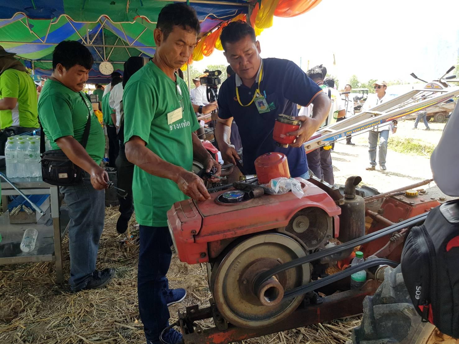 กรมส่งเสริมการเกษตร เร่งฟื้นฟูผู้ประสบอุทกภัย ซ่อมเครื่องยนต์เกษตรฟรี!