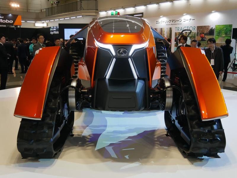 ด้านหน้า X tractor – cross tractor