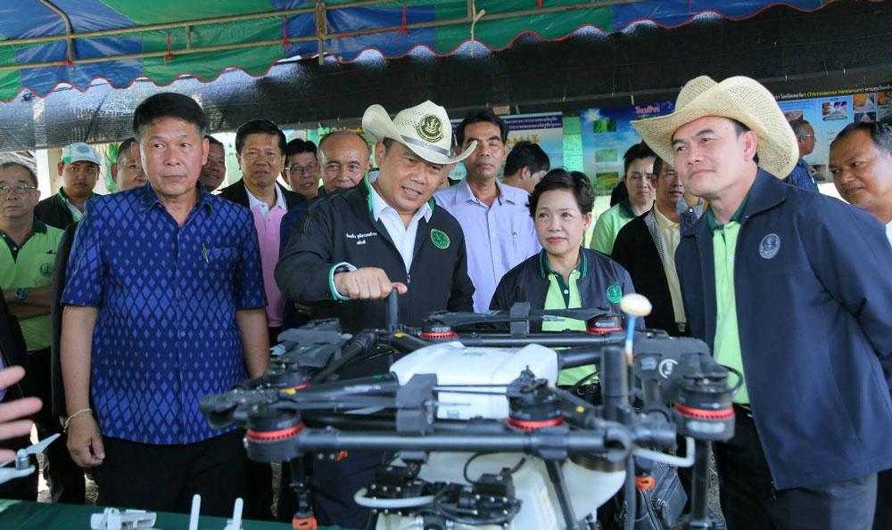 กรมส่งเสริมการเกษตรจัด Kick Off รณรงค์หยุดเผาในไร่นา ลดฝุ่น PM 2.5