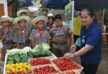 เกษตรกรให้ความสนใจเข้าร่วมงานวันถ่ายทอดเทคโนโลยีชุมชนต้นแบบ จ.น่าน