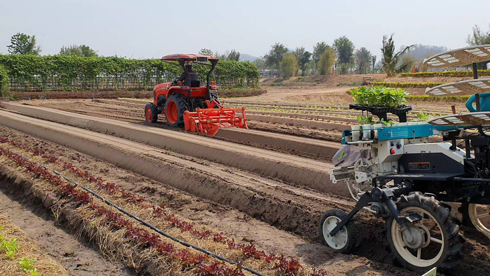เครื่องยกร่องปลูกผักและเครื่องปลูกผัก จะเป็นวัตกรรมใหม่ที่มีโครงการจะเปิดตลาดในอนาคตอันใกล้นี้
