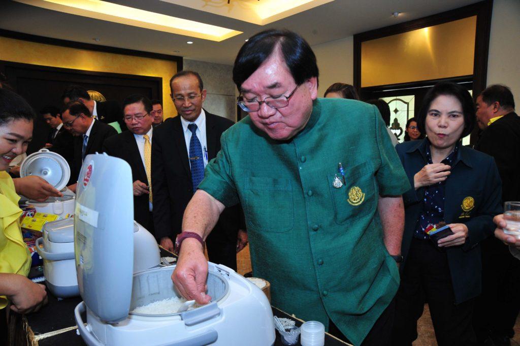 """""""ประภัตร"""" เร่งระดมสมองหวังพัฒนาศักยภาพข้าวไทยทุกมิติ ทวงคืนหลังเสียแชมป์ส่งออก 3 ปี"""