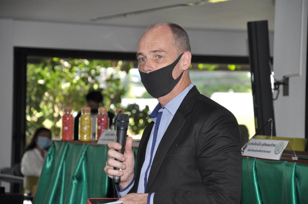 คุณเบิร์ท แวน เดอร์ เฟลท์ซ ประธานกรรมการบริหาร กลุ่มบริษัทอีสท์เวสท์ซีดประเทศไทย