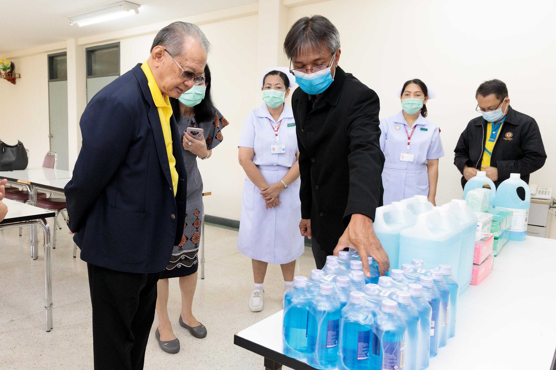ไบเออร์ไทย มอบอุปกรณ์ป้องกันการแพร่ระบาดโควิด-19 แก่ศูนย์เวชศาสตร์ฟื้นฟู สภากาชาดไทย