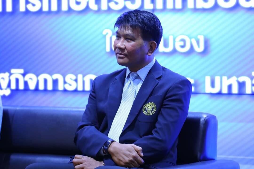 ผศ.ดร.ธนวรรธน์ พลวิชัย อธิการบดีมหาวิทยาลัยหอการค้าไทย
