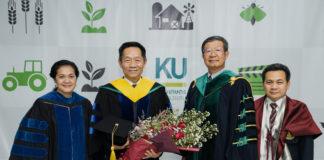ซีอีโอ เจียไต๋ รับปริญญาปรัชญาดุษฎีบัณฑิตกิตติมศักดิ์ สาขาวิชาวิจัยและพัฒนาการเกษตร ม. เกษตร ตอกย้ำวิสัยทัศน์พัฒนาเกษตรไทยอย่างยั่งยืน
