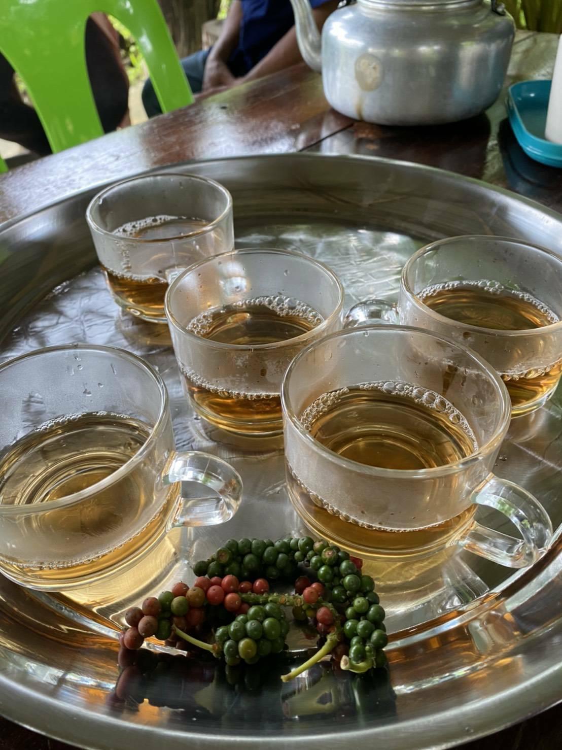 ชาพริกไทยปะเหลียนขายดีมาก(ดูในคลิปประกอบได้)