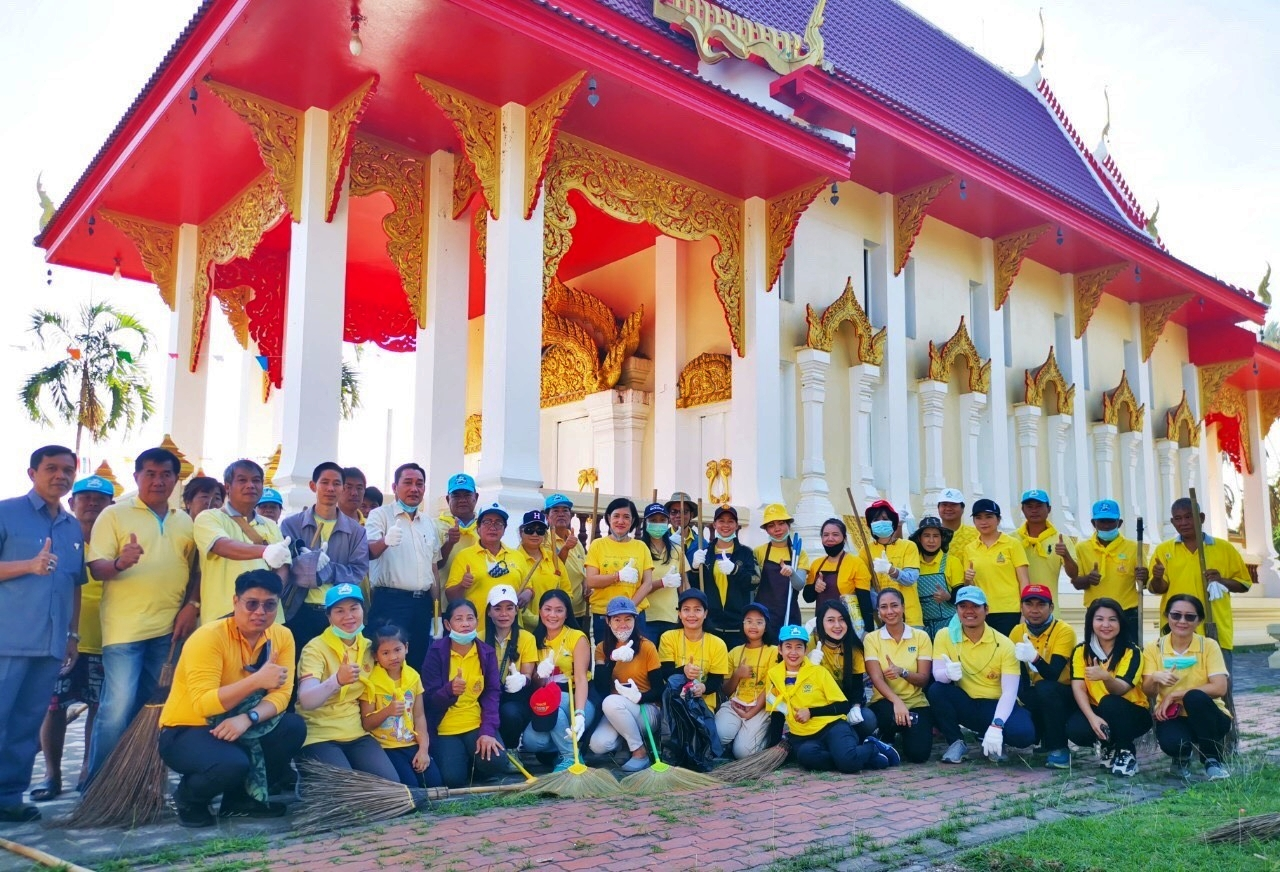 """จิตอาสา CP – CPF ทั่วไทย """"เราทำความดี เพื่อชาติ ศาสน์ กษัตริย์"""""""