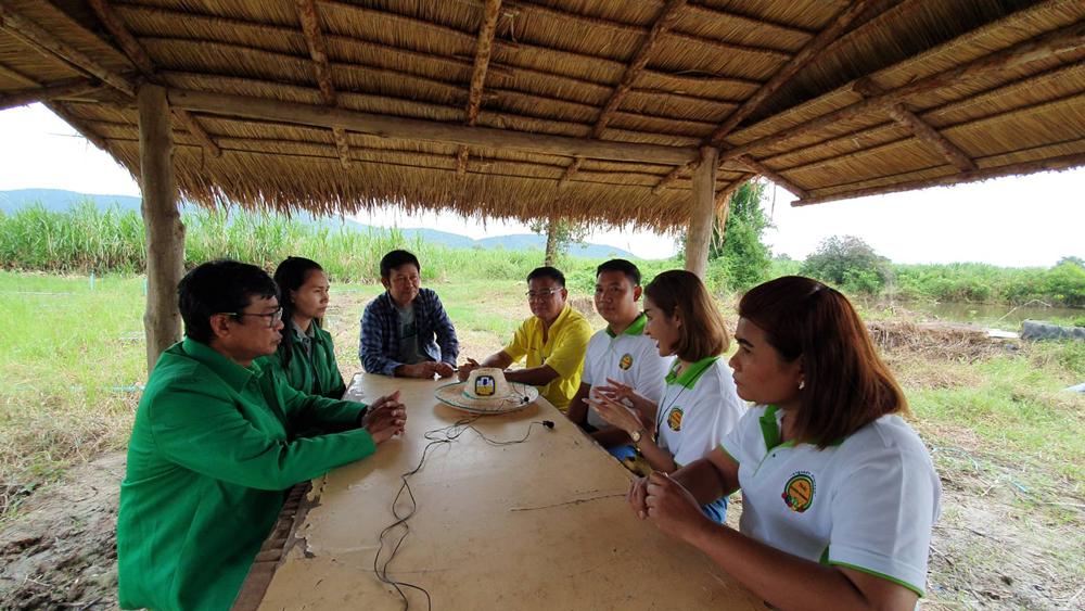 เสวนากันที่วิสาหกิจชุมชนปลูกผักของคนรุ่นใหม่ Thai Good Farmer