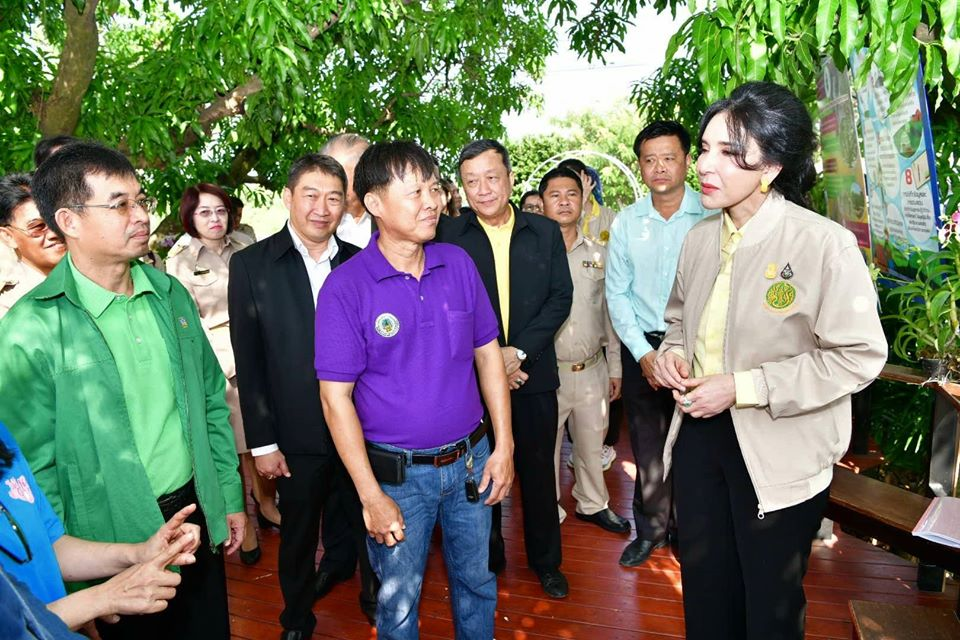 """รัฐมนตรี """"มนัญญา"""" รัฐมนตรีช่วยกระทรวงเกษตรฯ มาเยี่ยมชม"""