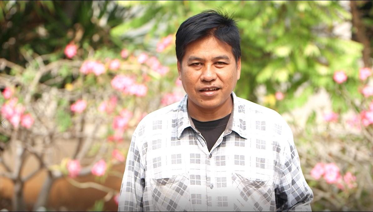 คุณธวัช ปั้นงาม เกษตรกรปลูกพืชผักสวนครัวจังหวัดสุพรรณบุรี