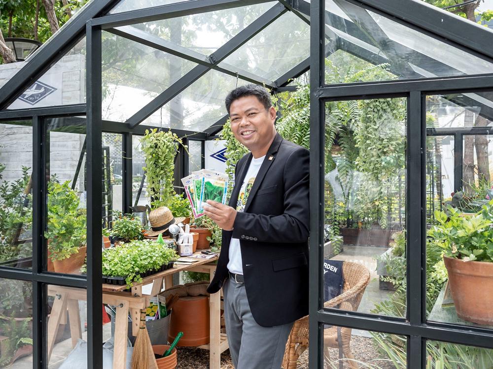 นายชัยวุฒิ สมปาน ผู้ช่วยกรรมการผู้จัดการด้านการขาย ธุรกิจเมล็ดพันธุ์ บริษัท เจียไต๋ จำกัด