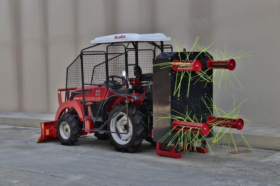 """เครื่องสางใบอ้อยยันม่าร์ """"ตัดอ้อยสดลดการเผา"""" หวังเป็นตัวช่วยเกษตรกรในการเพิ่มผลผลิต"""