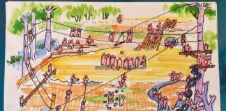 อธิบดี พช. สานฝันสมาชิกกองทุนพัฒนาบทบาทสตรี สร้างสนามเด็กเล่นสร้างปัญญาแก่เด็กชาวเขาเผ่าลาหู่ในอำเภอแม่ฟ้าหลวง จังหวัดเชียงราย