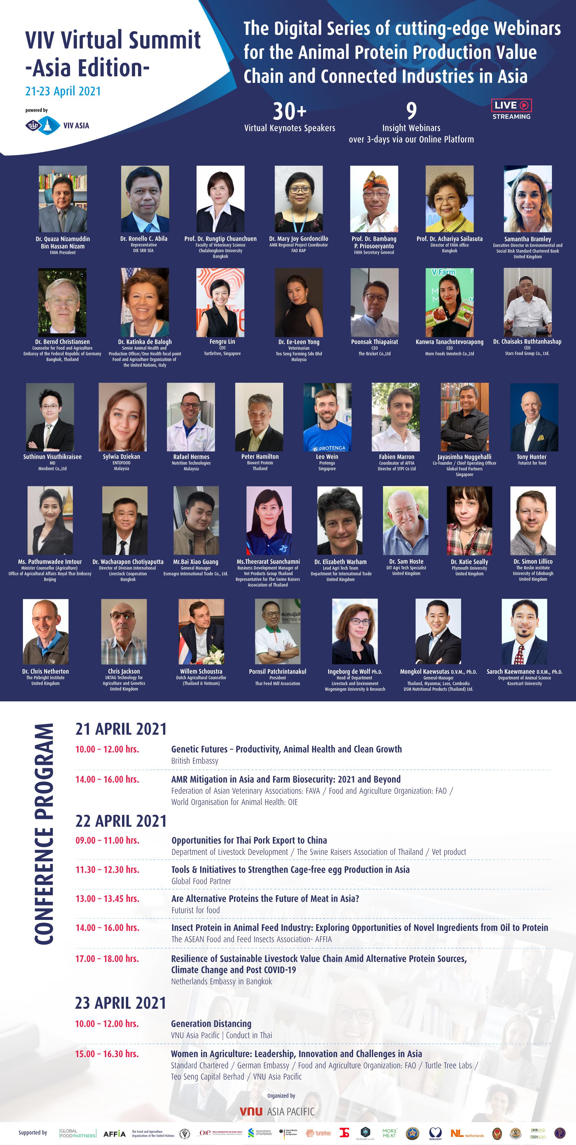 VIV Virtual Summit - Asia Edition - 21-23 เมษายน 2564